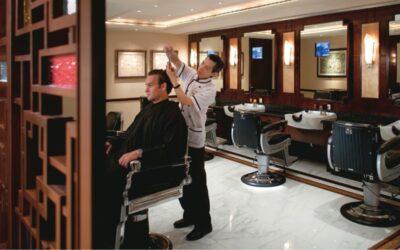 文華東方酒店推出期間限定冧酒理髮店