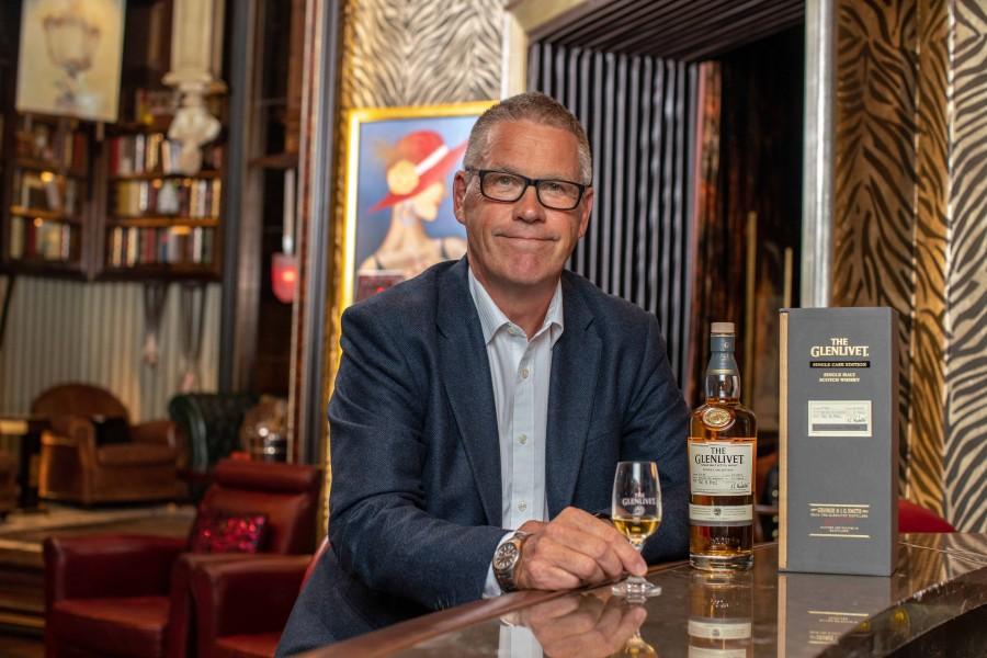 與美酒血脈相連 The Glenlivet首席蒸餾師Alan Winchester